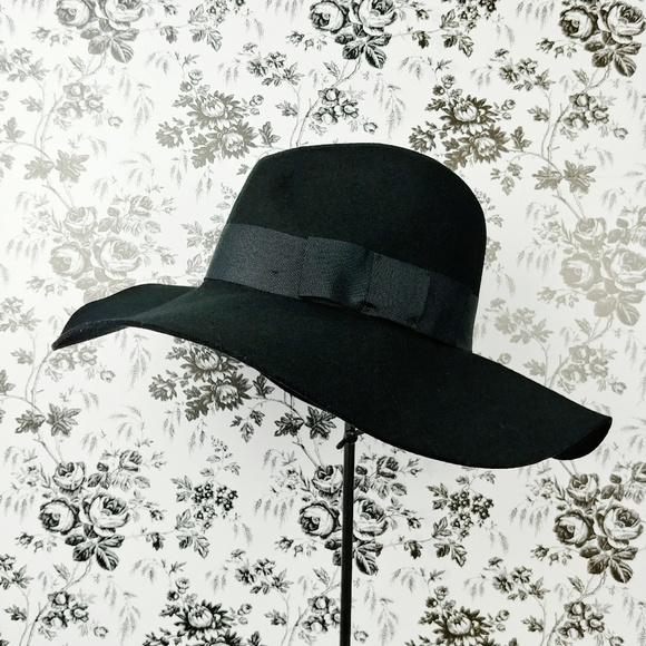 b9d2ec7a9c Brixton Piper black wool floppy hat